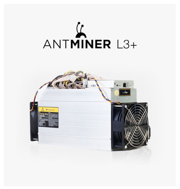Bitmain Antminer l3+ Litecoin Miner